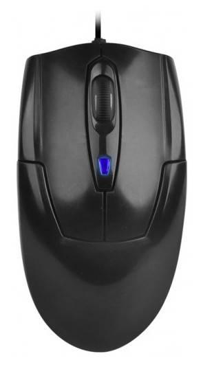 Мышь A4 D-301 черный - фото 1