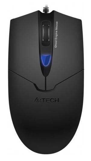 Мышь A4 D-302 черный - фото 1
