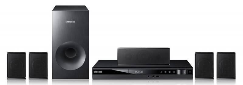 Домашний кинотеатр Samsung HT-E350K черный/черный - фото 1