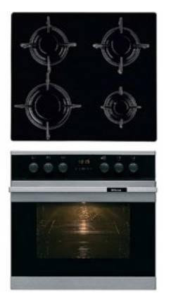 Встраиваемый комплект Hansa BCMI 64590015 серебристый черный (BCMI64590015) - фото 1