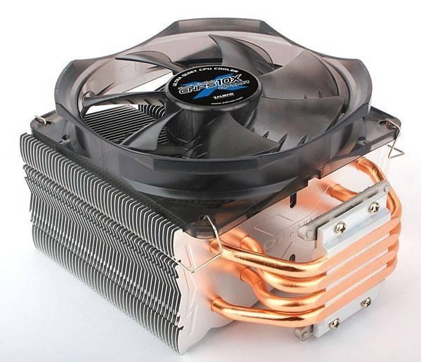 Устройство охлаждения(кулер) Zalman CNPS10X Optima Ret - фото 1