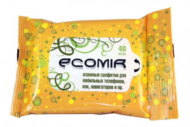 Салфетки Ecomir (24225), 40шт (24225) - фото 1