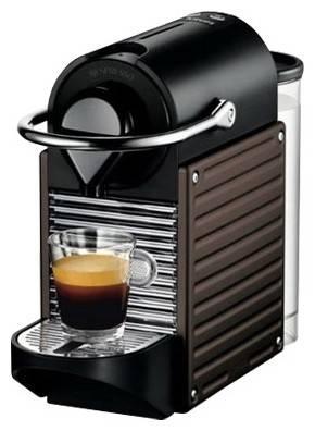Кофемашина Krups Nespresso Pixie XN300810 коричневый/черный - фото 1