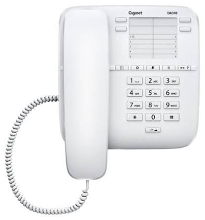 Телефон Gigaset DA310 белый - фото 1