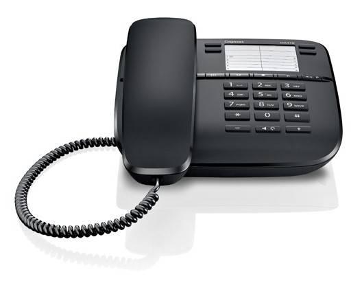 Телефон Gigaset DA410 черный - фото 2