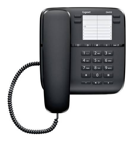 Телефон Gigaset DA410 черный - фото 3