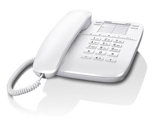 Телефон Gigaset DA410 белый - фото 1