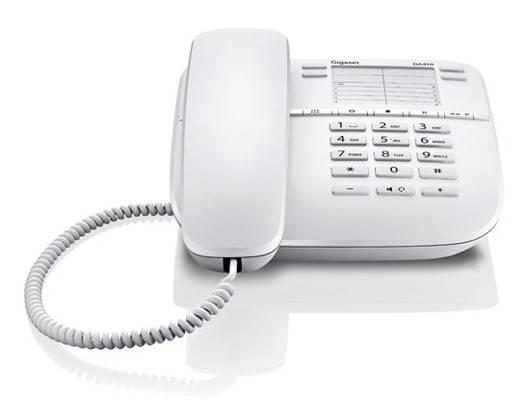 Телефон Gigaset DA410 белый - фото 2