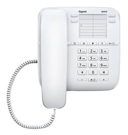 Телефон Gigaset DA410 белый - фото 3