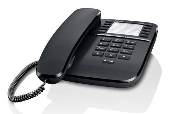 Телефон Gigaset DA510 черный - фото 1