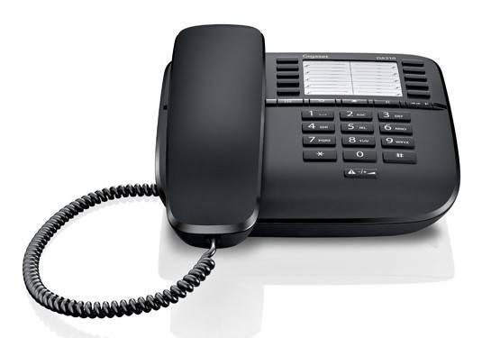 Телефон Gigaset DA510 черный - фото 2