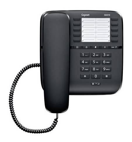 Телефон Gigaset DA510 черный - фото 3