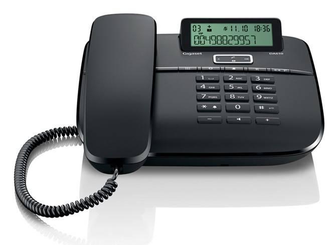 Телефон Gigaset DA610 черный - фото 2