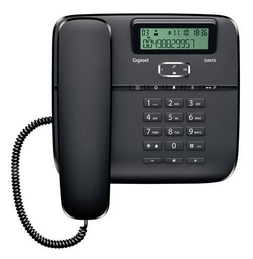 Телефон Gigaset DA610 черный - фото 3