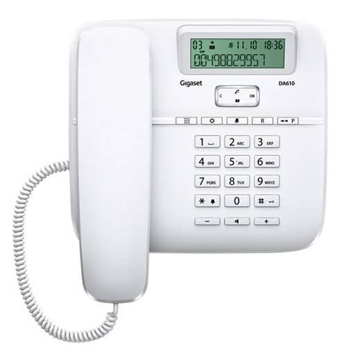 Телефон Gigaset DA610 белый - фото 3