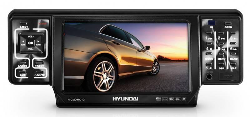 Автомагнитола Hyundai H-CMD4001G - фото 1
