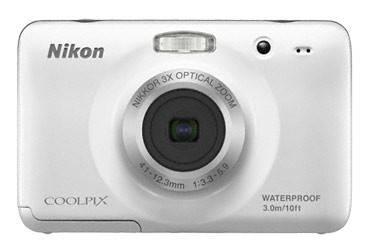 Фотоаппарат Nikon CoolPix S30 белый - фото 1