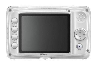 Фотоаппарат Nikon CoolPix S30 белый - фото 2