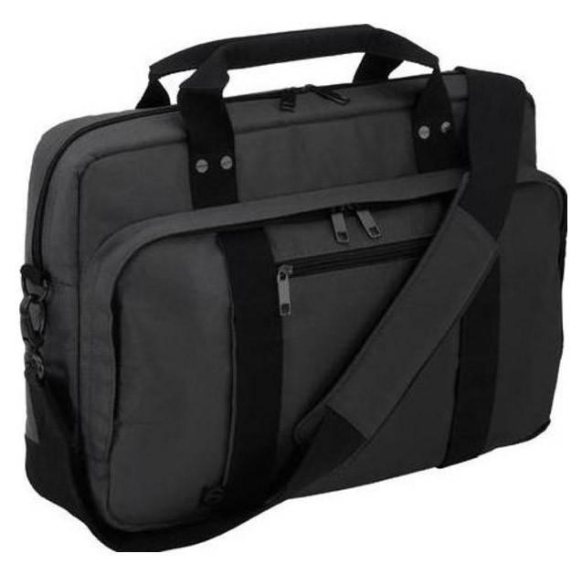 """Сумка для ноутбука 15.6"""" Dell Half Day серый/черный - фото 1"""