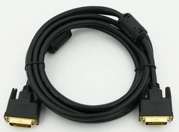 Кабель DVI-D (m)/DVI-D (m) 1.8м.