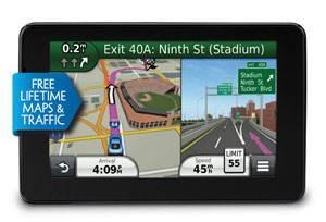 "GPS-навигатор Garmin Nuvi 3590LMT 5"" черный - фото 1"