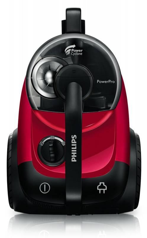 Пылесос Philips PowerPro FC8760 красный - фото 4
