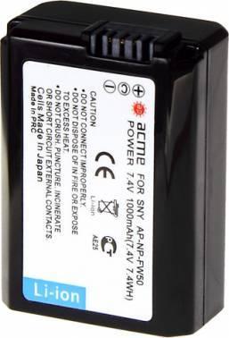 Аккумулятор для зеркальных камер AcmePower AP-NP-FW50