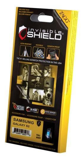 Защитная пленка Zagg InvisibleSHIELD для Samsung Galaxy S II прозрачная - фото 2