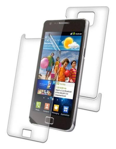 Защитная пленка Zagg InvisibleSHIELD для Samsung Galaxy S II прозрачная - фото 1
