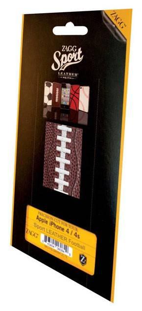 Наклейка Zagg LSBRNFOO73 football для Apple iPhone 4/4S - фото 2