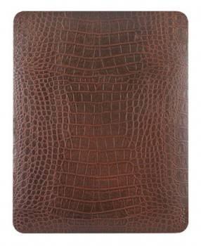 Наклейка Zagg LEATHERskin LSBRNALL101 коричневый