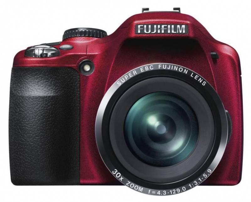 Фотоаппарат FujiFilm FinePix SL300 красный - фото 1