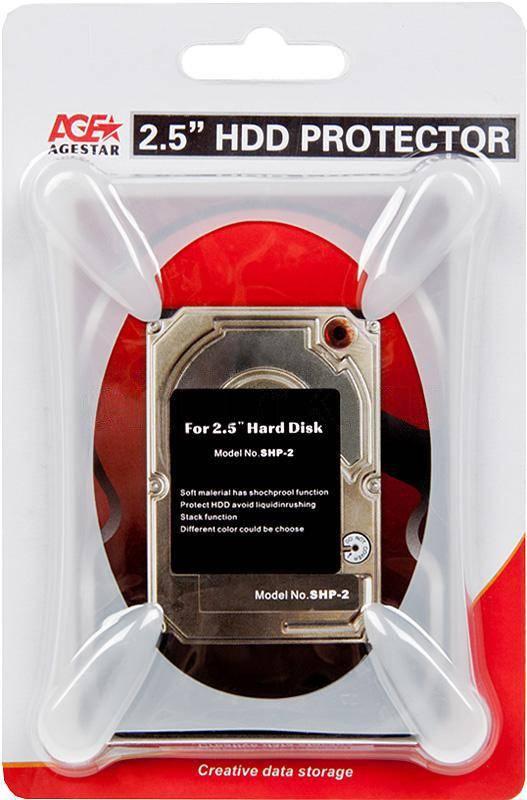 "Защитный чехол AgeStar SHP-2-J W для 2.5"" дисков - фото 3"