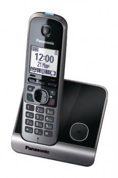 Телефон Panasonic KX-TG6711RUB черный