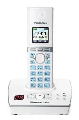 Телефон Panasonic KX-TG8061RUW белый - фото 2