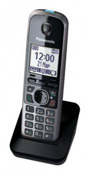 Дополнительная трубка Panasonic KX-TGA671RUB черный