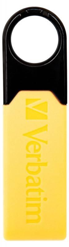 Флеш диск 8Gb Verbatim Micro Plus USB2.0 желтый - фото 3