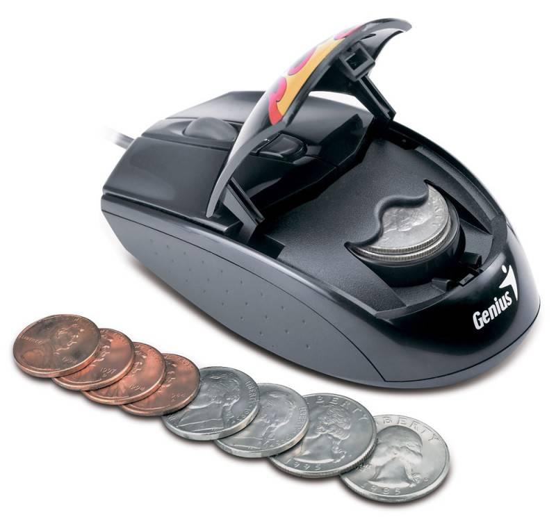 Мышь Genius NetScroll G500 черный/рисунок - фото 2
