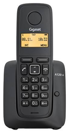 Телефон Gigaset A120 черный - фото 1