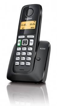 Телефон Gigaset A220 черный