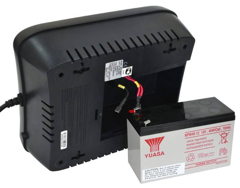 ИБП Powercom SPD-1000U черный - фото 4