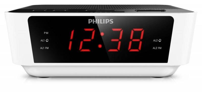 Радиобудильник Philips AJ3115/12 белый - фото 2