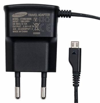 Сетевое зар./устр. Samsung ETA0U10 черный (ETA0U10EBECSTD)