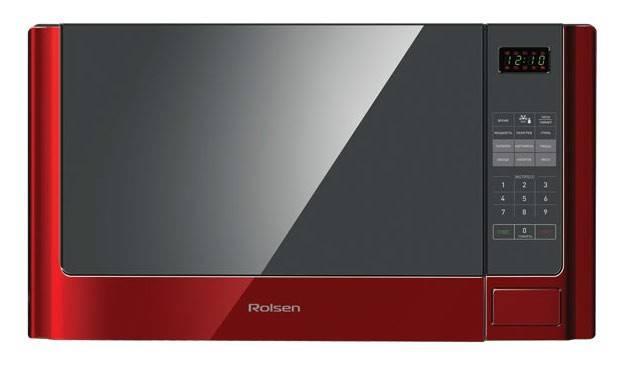 СВЧ-печь Rolsen MG2380SLR красный - фото 1