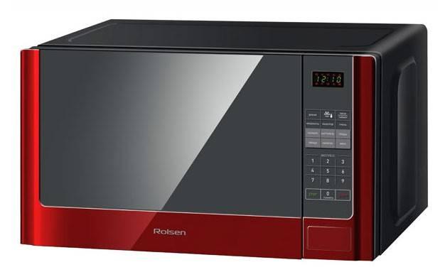 СВЧ-печь Rolsen MG2380SLR красный - фото 2