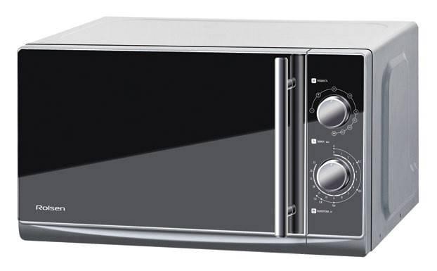 СВЧ-печь Rolsen MS2080ME серый - фото 1