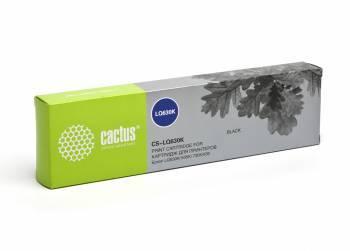 Картридж ленточный Cactus CS-LQ630 черный