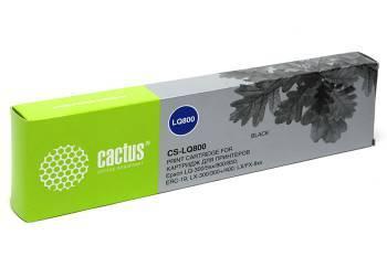 Картридж ленточный Cactus CS-LQ800 черный