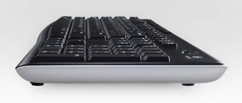 Клавиатура Logitech K270 черный/белый - фото 5