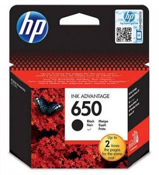 Картридж струйный HP 650 CZ101AE черный